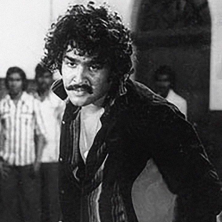Mohanlal in 'Manjil Virinja Pookkal' (1980)