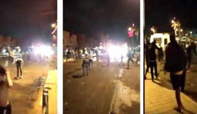 Laâyoune: Une femme décédée et une banque incendiée après la finale de la