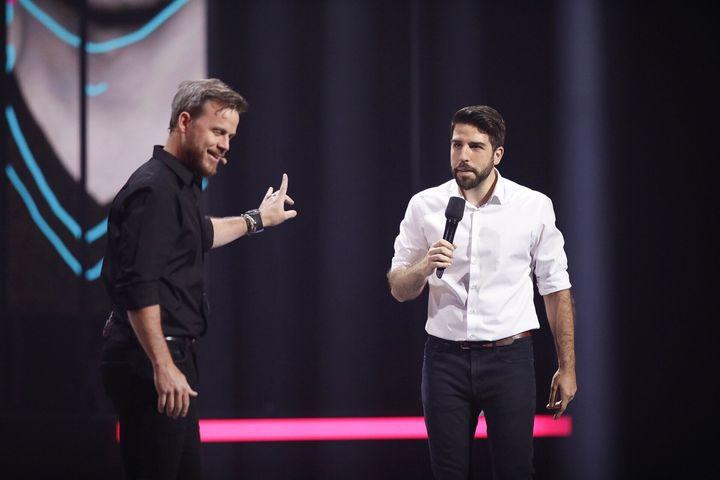 Louis Morissette et Yannick de Martino (à droite)