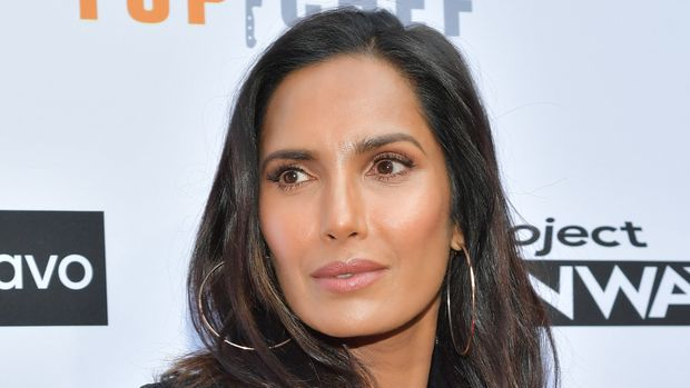 "LOS ANGELES, CALIFORNIA - APRIL 16: Padma Lakshmi attends Bravo's ""Top Chef"" and ""Project Runway"" A Night of Food and Fashion FYC Red Carpet Event at Vibiana on April 16, 2019 in Los Angeles, California. (Photo by Amy Sussman/Getty Images)"