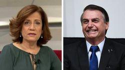 Globo explode contra Bolsonaro e defende Miriam Leitão: 'Não é a jornalista quem