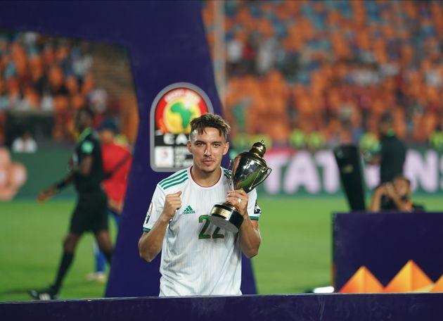 Ismaël Bennacer élu meilleur joueur de la CAN