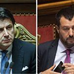 Salvini-Conte, una crepa larga