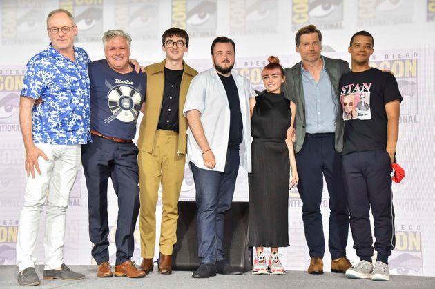 Les acteurs de «Game of Thrones» au Comic-Con de San