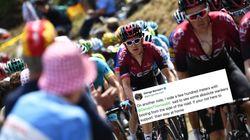 Ce coureur du Tour de France a un message pour tous les