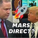 Le leçon lunaire de Trump au chef de la Nasa devant les astronautes d'Apollo