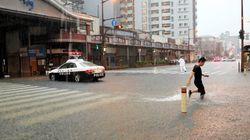 九州で大雨、5万7千人に避難指示 佐賀で小学生が死亡