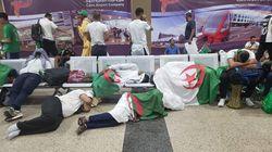 Des centaines de fans algériens sont coincés au Caire et livrés à
