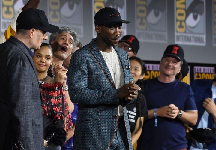 Mahershala Ali lors du Comic-Con de San Diego le 20 juillet 2019.