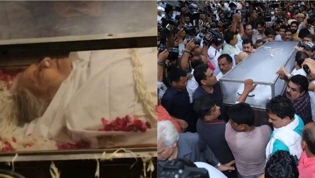 Sheila Dikshit Cremated With Full State
