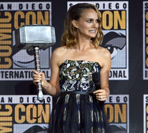 Natalie Portman lors du Comic-Con à San Diego le 20 juillet