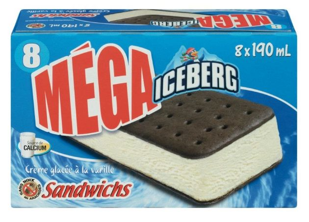 Ice cream sandwiches recalled from two brands for possibly containing metal