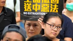 香港デモで初、中国政府の機関に直接抗議 43万人が行進