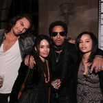 Lenny Kravitz's Blended Family Includes 'Brother' Jason
