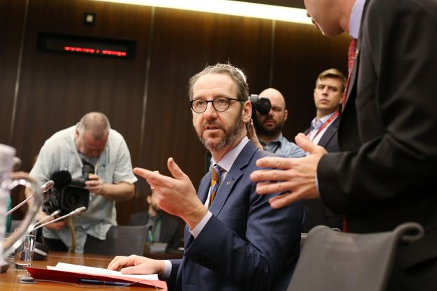 Gerald Butts, former principal secretary to Justin Trudeau, testifies before the House of Commons justice...