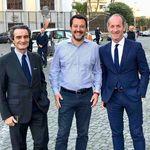 Salvini manda avanti i colonnelli contro Conte (di G.A.