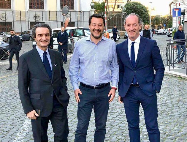 Salvini manda avanti i colonnelli contro Conte