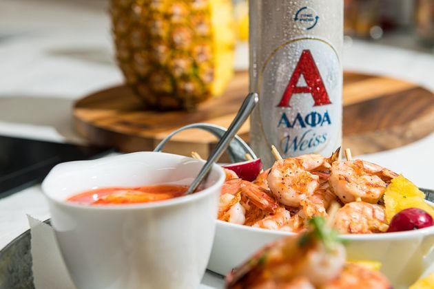 """""""Ταξιδέψτε"""" στο Μεξικό με αυτή τη συνταγή για Taco με γαρίδα, ανανά &"""