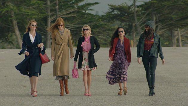 Laura Dern, Nicole Kidman,Reese Witherspoon,Zoë Kravitz eShailene Woodley na...