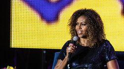 미셸 오바마가 트럼프의 인종차별 발언에