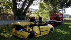 Cuatro jóvenes muertos y dos graves en un accidente de tráfico en