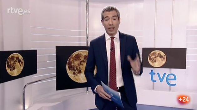 TVE sorprende con este original cierre el Telediario de una semana tan