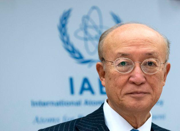 国際原子力機関(IAEA)の天野之弥事務局長(オーストリア・ウィーン)
