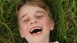 영국 조지 왕자의 6번째 생일 기념사진이