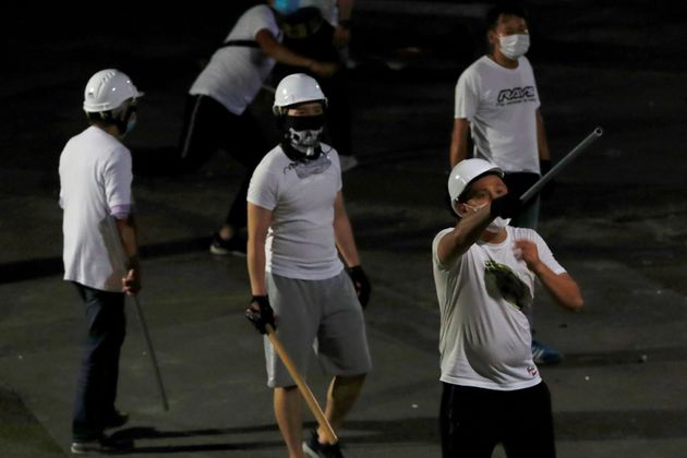 Hong Kong Police Accused Of Failing To Protect Protestors From Armed Gang