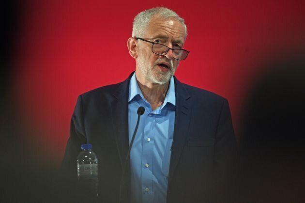 Jeremy Corbyn, líder del Partido Laborista (de