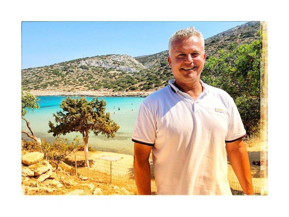 Fotis Maggos è il sindaco di Lipsi al secondo