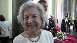 Il ricordo della vedova Borrelli:
