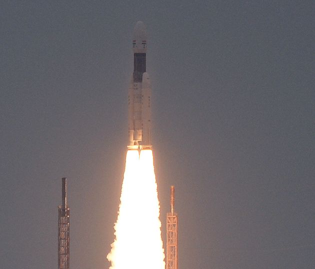 Chandrayaan-2 Lifts Off, ISRO Chief Calls It 'Beginning of India's Historic