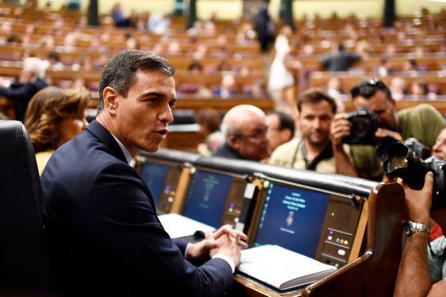 Las 20 propuestas de Pedro Sánchez en la sesión de investidura: invertir el 5% del PIB en educación y...