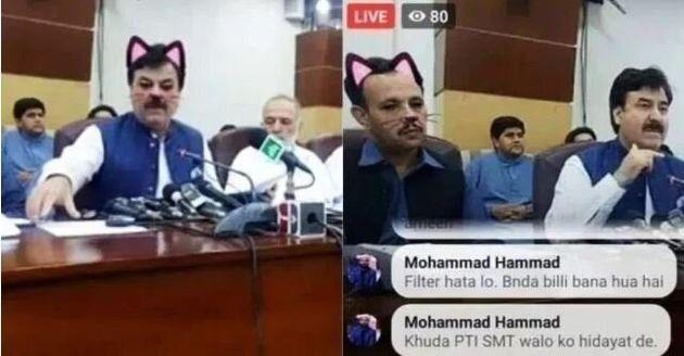 Shaukat Yousafzai, un ministre pakistanais avait fait la même