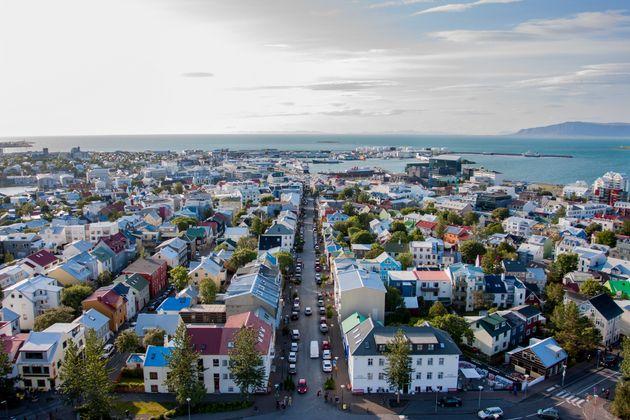 Reykjavik, la capitale du