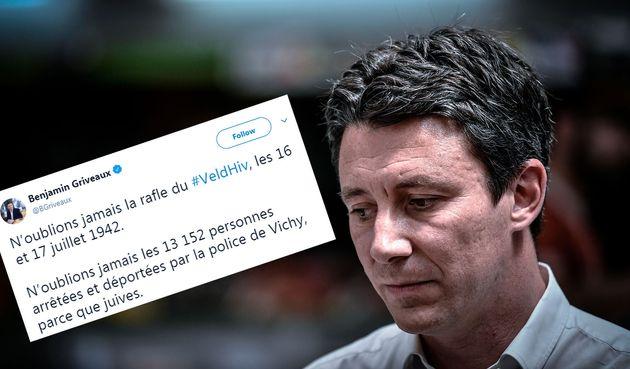 Sur Twitter, voulant rendre hommage aux victimes de la rafle du Vél' d'Hiv', survenue à...