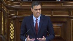 El discurso de investidura de Pedro Sánchez, resumido en dos