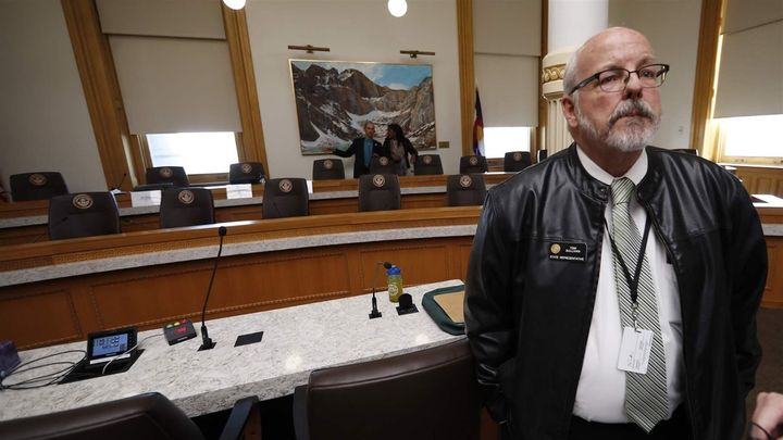 Colorado state Rep. Tom Sullivan, a Democrat, lost his son in the 2012 mass shooting at an Aurora, Colorado, movie theater. H