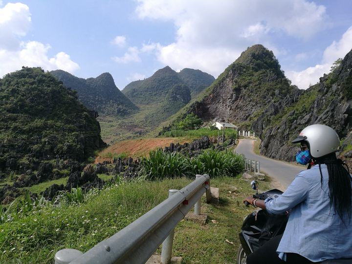 On a 3-day motorbike journey across the Ha Giang Loop in the north of Vietnam.