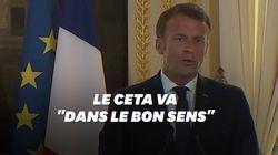 Macron répond à Hulot sur le Ceta et lui enjoint de