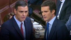 Casado y Sánchez: todos sus rifirrafes en el debate de