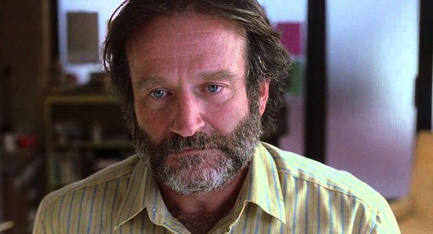 Robin Williams en una escena de 'El indomable Will