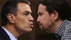 O Podemos o nada: feo cara a cara final entre Iglesias y Sánchez sobre