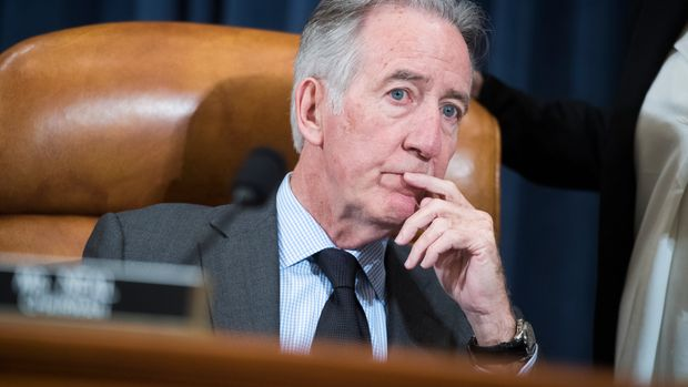 "UNITED STATES - MAY 16: Chairman Richard Neal, D-Mass., is seen during a House Ways and Means Committee hearing in Longworth Building titled ""Overcoming Racial Disparities and Social Determinants in the Maternal Mortality Crisis,"" on Thursday, May 16, 2019. (Photo By Tom Williams/CQ Roll Call)"