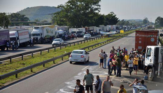 'Em 3 dias o País pode parar', diz líder dos caminhoneiros