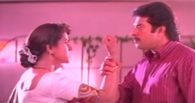 Mammootty and Vani Viswanath in 'The