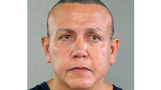 FILE - This Aug. 30, 2015, file photo released by the Broward County Sheriff's Office shows Cesar Sayoc in Miami. Sayoc, who mailed crudely made pipe bombs to prominent critics of President Donald Trump, said he abused steroids for over 40 years, an issue his lawyers say they'll cite at sentencing. Sayoc made the assertion in lengthy and rambling letters to a federal judge that were posted in his court case file, Tuesday, April 23, 2019. (Broward County Sheriff's Office via AP, File)