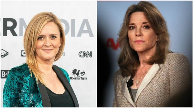 Samantha Bee/ Marianne Williamson