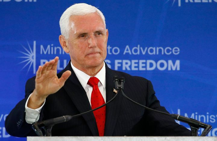 We May Finally Know Why Mike Pence Mysteriously Canceled An Event 3 Weeks Ago